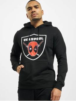 Merchcode Felpa con cappuccio Deadpool Raider nero