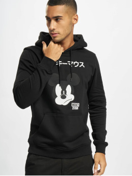 Merchcode Felpa con cappuccio Mickey Japanese nero