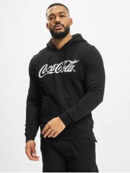 Merchcode Hoodie Coca Cola Classic svart