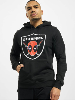 Merchcode Hoodies Deadpool Raider čern