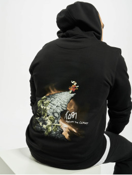 Merchcode Hoody Korn Follow The Leader  schwarz