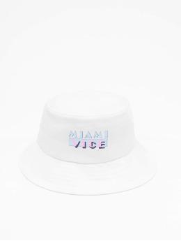 Merchcode Klobúky Miami Vice Logo  biela