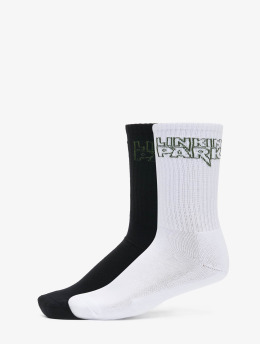Merchcode Ponožky Merchcode Linkin Park 2-Pack Socks èierna