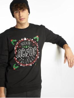 Merchcode Pulóvre ACDC Christmas èierna