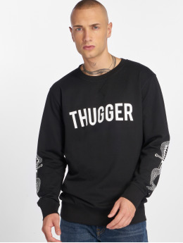 Merchcode Swetry  Thugger Snake Sword czarny