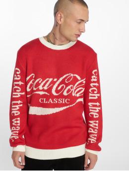 Merchcode Swetry Coca Cola Xmas  czerwony