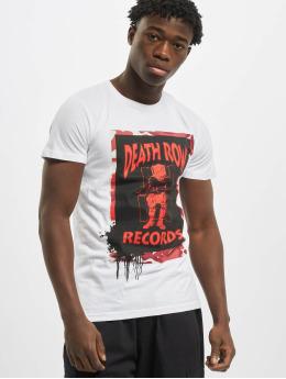 Merchcode T-paidat Death Row Camo valkoinen