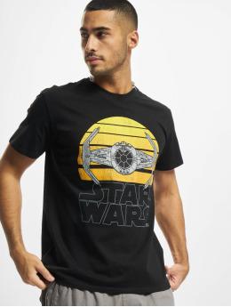 Merchcode T-Shirt Star Wars Sunset black