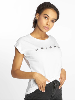 Merchcode T-Shirt Friends Logo blanc