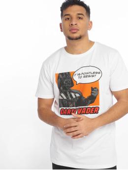 Merchcode T-Shirt Star Wars Pointless To Resist blanc