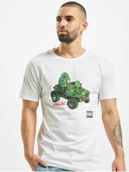 Merchcode T-Shirt Gorillaz Tank blanc