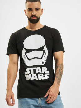 Merchcode T-shirt Star Wars nero