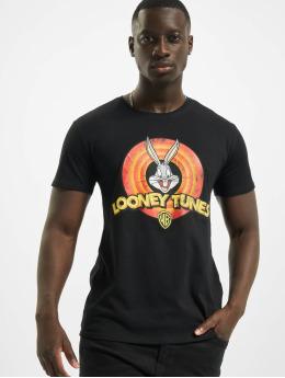 Merchcode T-shirt Looney Tunes Bugs Bunny Logo nero