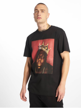 Merchcode T-Shirt Notorious B.I.G. Crown schwarz
