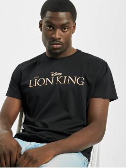 Merchcode T-Shirt Lion King Logo schwarz