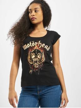 Merchcode T-Shirt Ladies Motörhead Warpig Skul schwarz