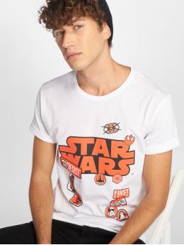 Merchcode T-Shirt Star Wars Patches white