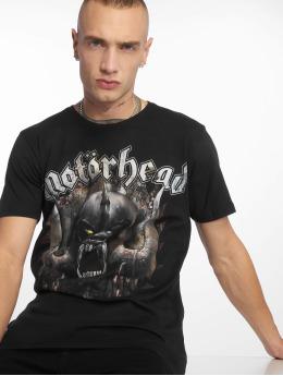 Merchcode t-shirt Motörhead Saw zwart