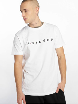 Merchcode T-Shirty Friends Logo Emb bialy