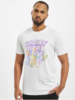 Merchcode T-Shirty Looney Tunes Rainbow Friends  bialy