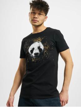 Merchcode T-Shirty Desiigner Panda  czarny
