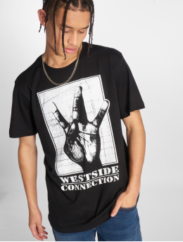 Merchcode T-Shirty Westside Connection czarny