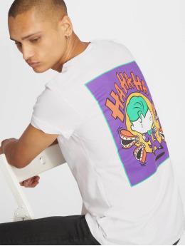 Merchcode T-skjorter Comic Joker hvit