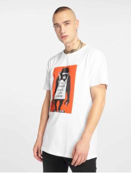 Merchcode T-skjorter Banksy Do Nothing  hvit