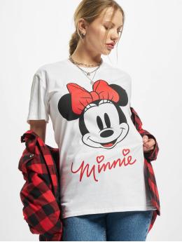 Merchcode T-skjorter Ladies Minnie Mouse  hvit