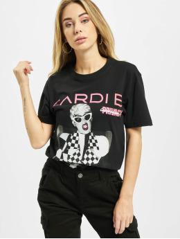 Merchcode T-skjorter Ladies Cardi B Transmission svart