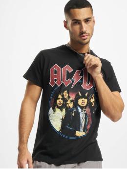 Merchcode T-skjorter Acdc Band Logo svart