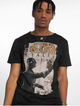 Merchcode Tričká Star Wars Darth Vader Tales èierna
