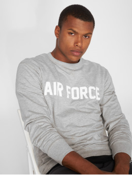 Merchcode trui Air Force Lettering grijs