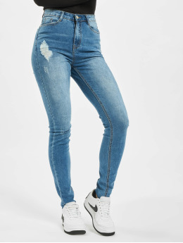 Missguided Úzke/Streč Tall Sinner Clean Distress modrá