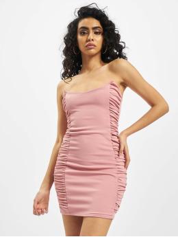Missguided Платья Scuba Crepe Ruched Side Mini розовый