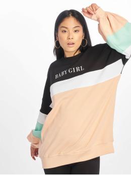 Missguided Пуловер Baby Girl Colour Bloack черный
