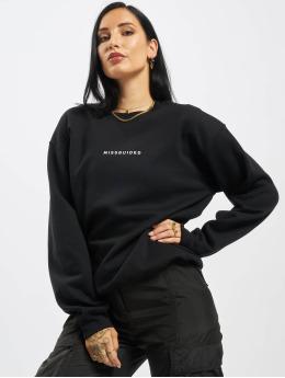 Missguided Пуловер Oversized  черный