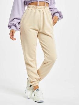 Missguided Спортивные брюки Petite Basic бежевый