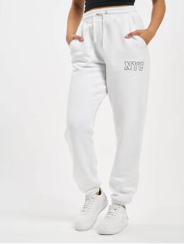 Missguided Спортивные брюки Co-Ord NYC белый