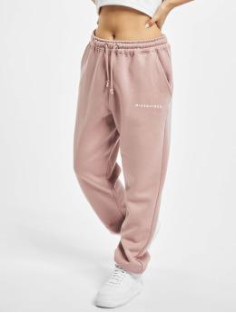 Missguided Спортивные брюки Oversized 90s пурпурный