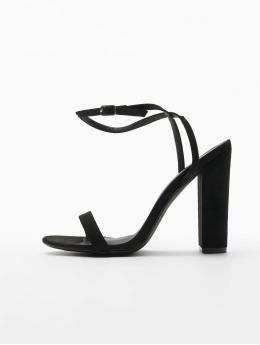 Missguided Туфли на каблуках Entry Block Heeled черный