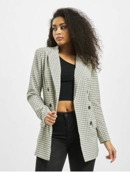 Missguided Blazer Checked gris