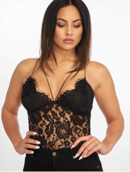 Missguided Body Corded Lace Harness èierna