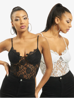 Missguided Body 2 Pack Lace zwart