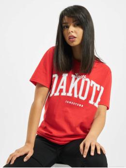 Missguided Camiseta Dakota Graphic Short Sleeve rojo