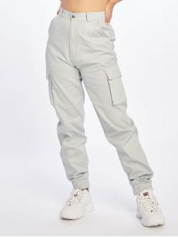 Missguided Cargo pants Plain grå