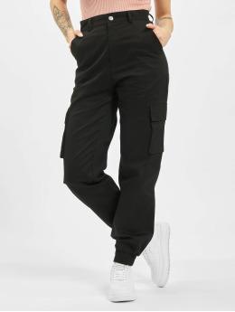 Missguided Cargobroek Petite Plain zwart