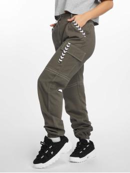 Missguided Chino bukser Sports Tape grå
