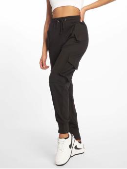 Missguided Chino bukser Utility Pocket svart