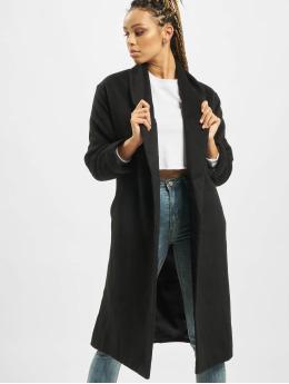 Missguided Coats Shawl Collar W Side black